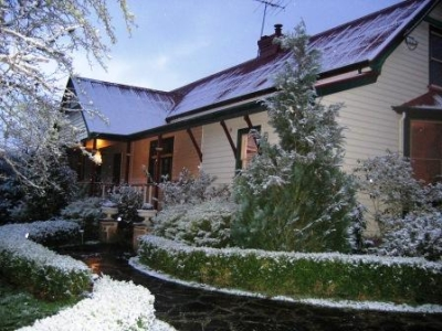 Crabtree House in winter